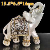 Tier Elefanten Dekoration Harz ungiftig Kreative Hause Handwerk Figurine Statue Feng Shui Glück Zubehör