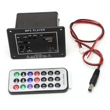 New 20W High Power DC 12V Bluetooth Car Subwoofer Hi-Fi Amplifier Board TF USB+Remote
