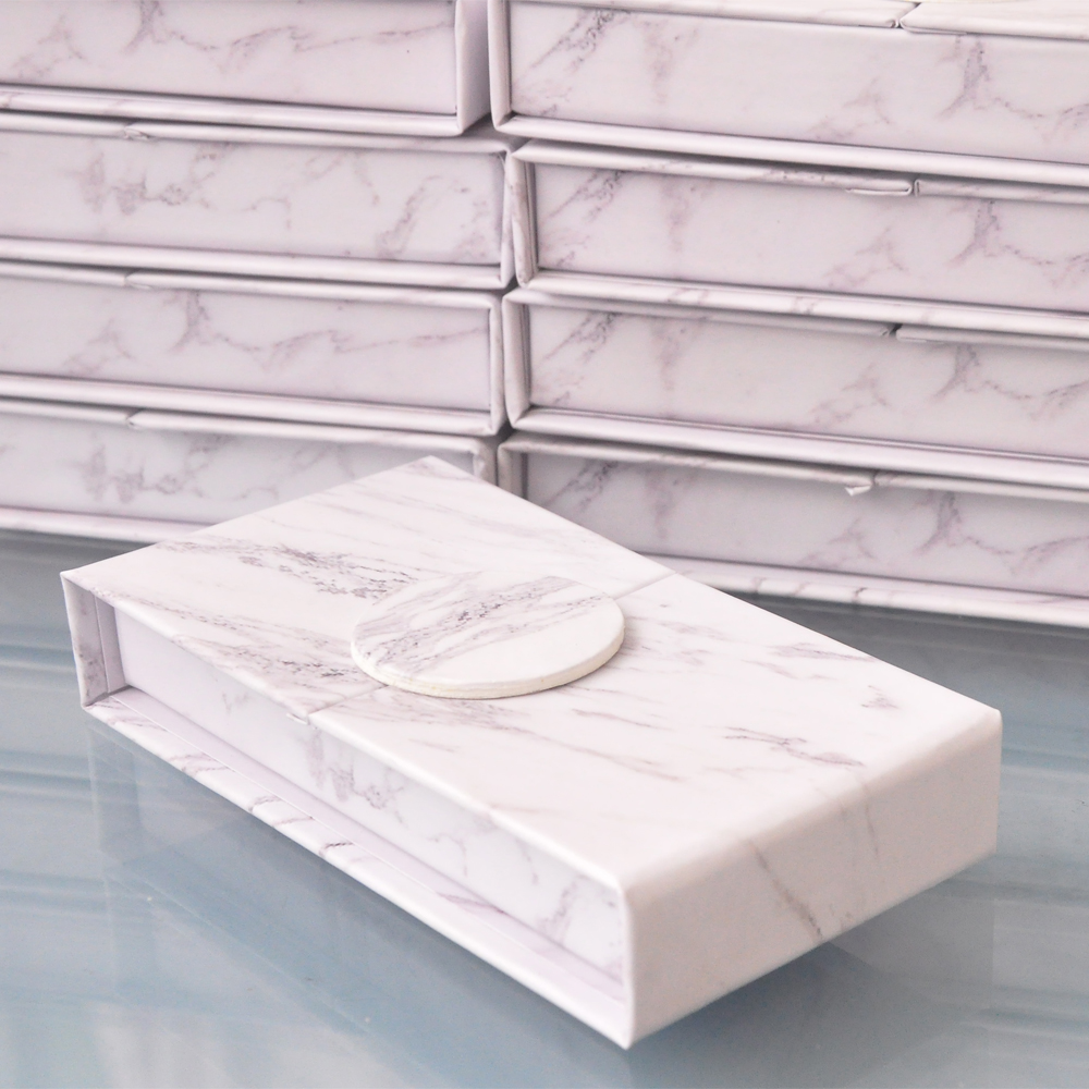 Image 4 - wholesale false eyelash packaging box lash boxes packaging custom your logo faux mink eyelashes strip lashes case empty  vendors-in False Eyelashes from Beauty & Health