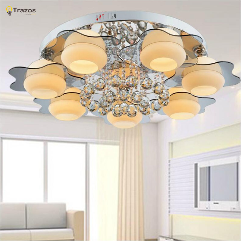 2018 Real Plated Incandescent Bulbs New Surface Mounted Ceiling Lights Lamp Indoor Lighting Abajur Square Led Light For Bedroom zmishibo double heart crystal pendant ceiling lamp 3 6 led bulbs 110 220v surface mounted chandelier lighting master bedroom