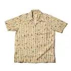Bronson 40s Aloha Stijlvolle Tropische Hawaiiaanse Shirts Outdoor Strand Korte Mouw