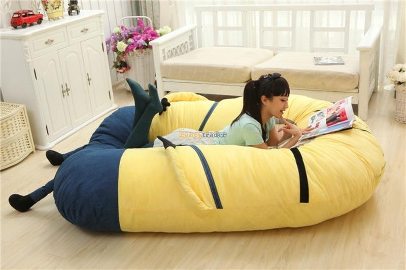 Fancytrader 230cm X 150cm Giant 3D Despicable Me Minion Bed Carpet Sofa Tatami, Free Shipping FT90230 (3)