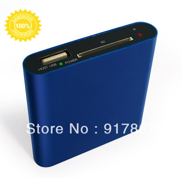 mini high quality low price hd external hard disk media player Support  rm RMVB, AVI  BMP jpg gif with Remote Controller