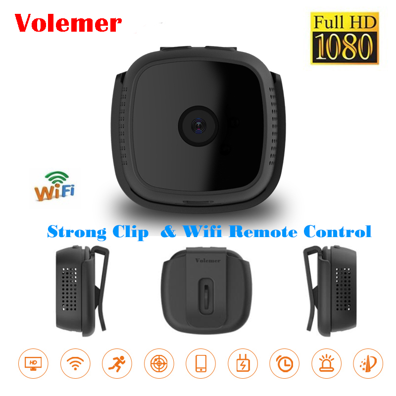 Mini Camera Wifi IP with Motion Sensor 720P Mini Camera Wifi HD Night Vision for iphone Android Video Security Magnetic Clip c9 mini camera wifi ip with motion sensor 720p mini camera wifi hd night vision for iphone android video security magnetic clip