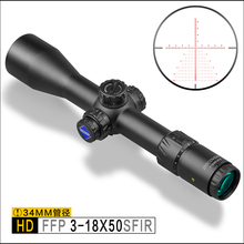 Discovery HD 3-18X50SFIR FFP Long Range Shooting Hunting Sniper Tactical 34mm Tube First Focal Plane Rifle Scope