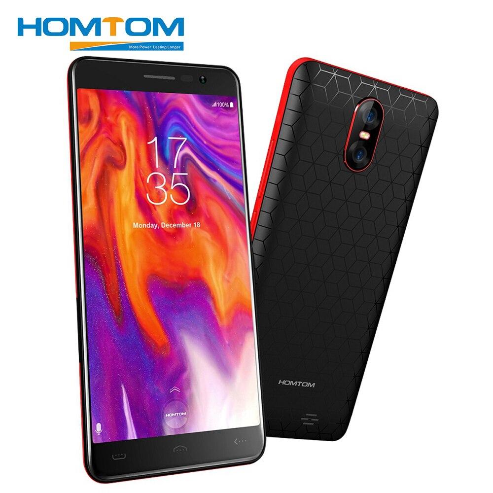 HOMTOM S12 Smartphone 5,0 zoll 18:9 Display 8MP 2MP Dual Zurück Kamera Android6.0 MT6580 Quad Core 1 gb RAM 8 gb ROM 3g Handy