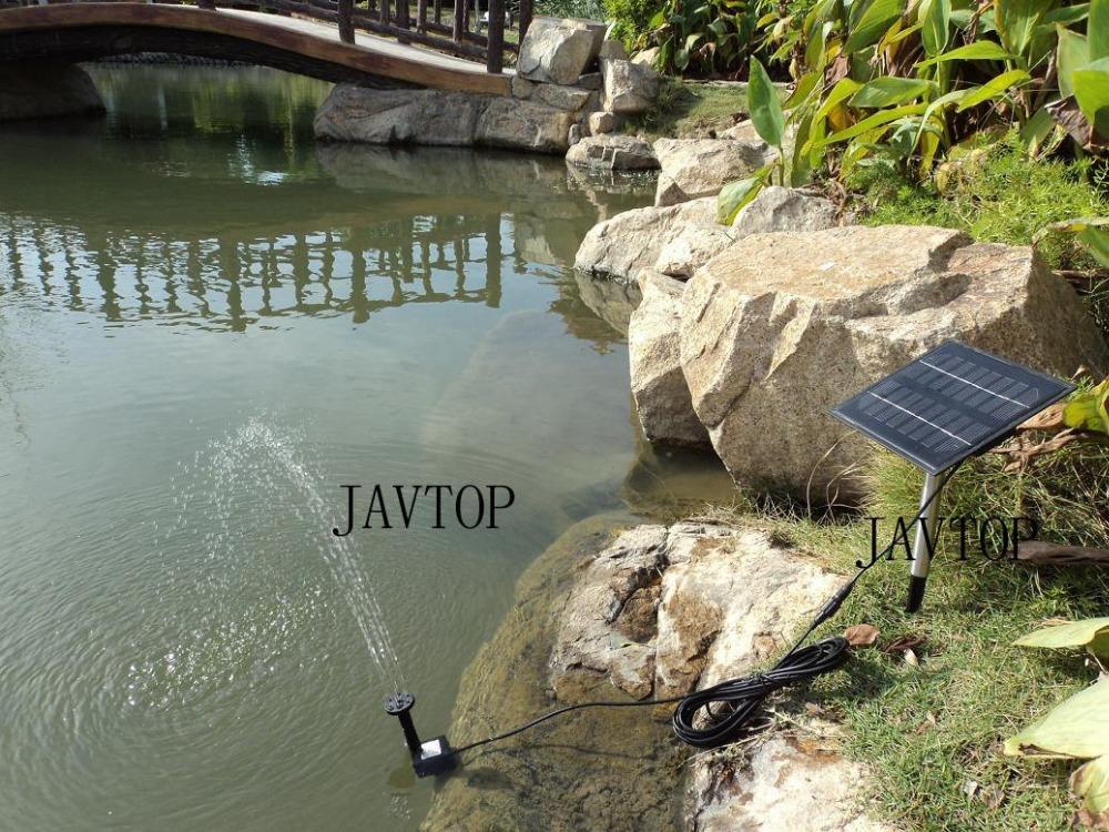 Pond landscape fountain pump