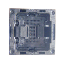 LGA52 Socket Open Frame Structure IC Test Socket Burn-in Socket Size 14*18mm Programming Socket LGA Adapter ssop24 ic test socket ots 28 0 65 01 tssop24 sop24 burn in socket programmer adapter conversion block connector