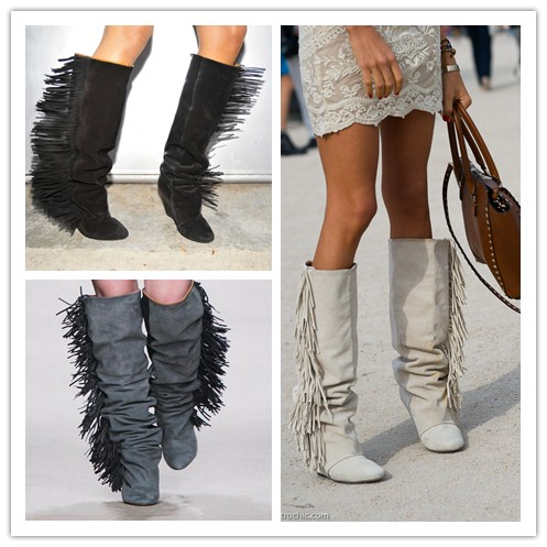 Online Buy Wholesale cheap fringe boots suede from China cheap ...