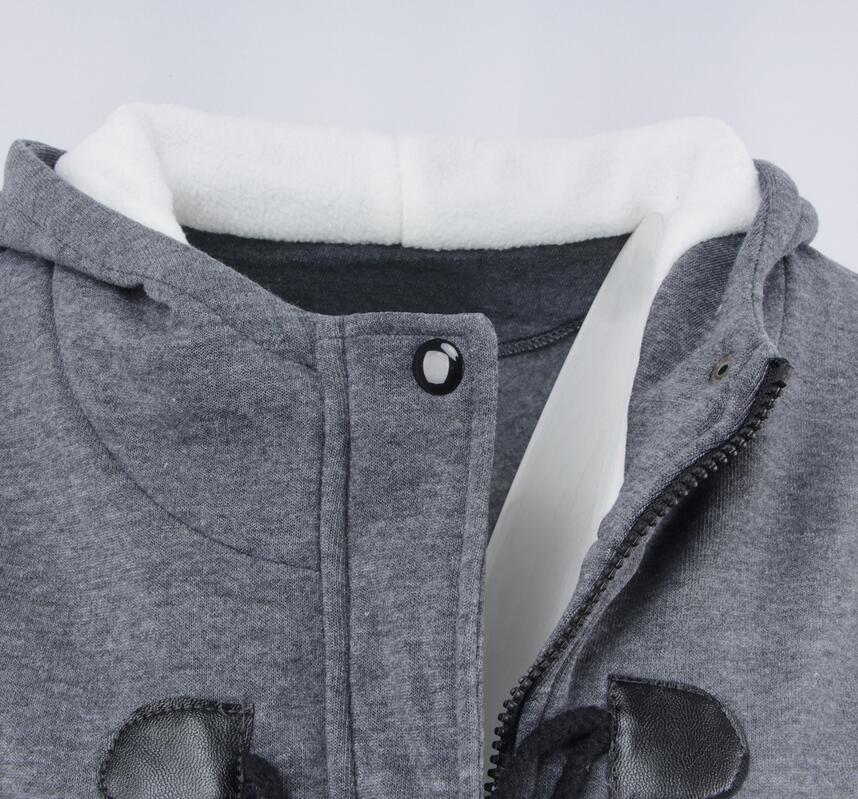Femelle 1 En Veste Capuche Cornes Et À 3 Manteau Coton Laine Épaississement Femmes Boucle De 2019 5 Automne 4 D'hiver Nouvelle Longue 2 z4npxq