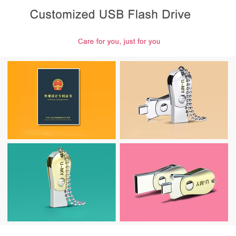 ᑐOTG Pen Drive Untuk Android USB Disk 32 GB Mobile USB Flash Drive ... d665e37410