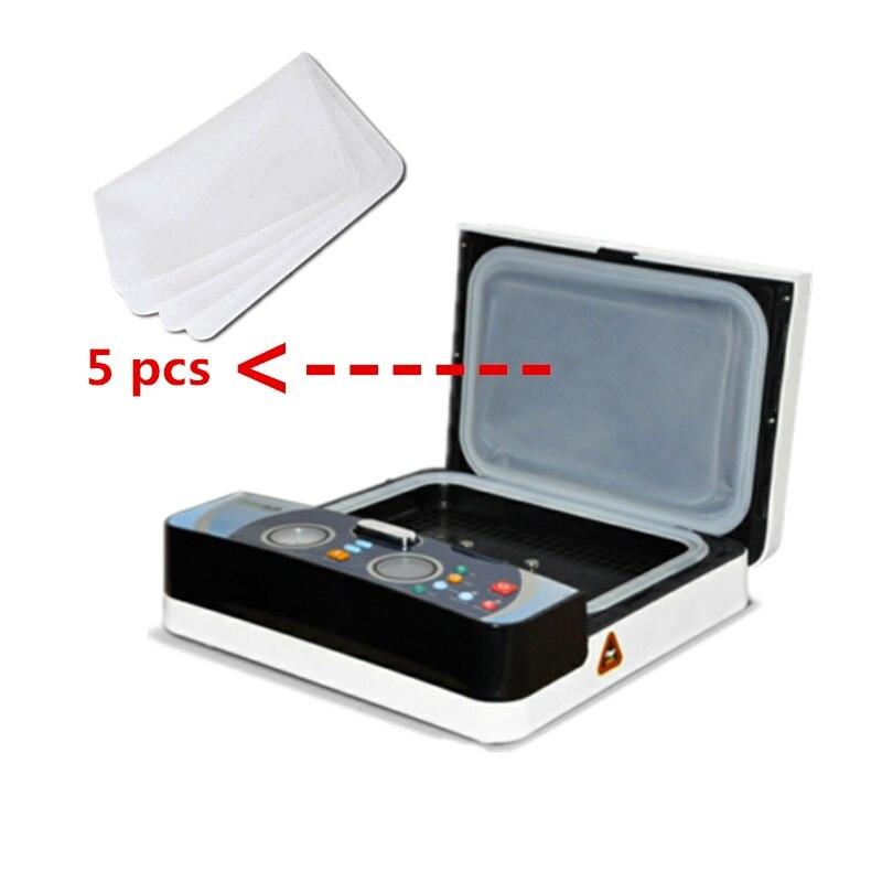 5 PCS Silicone Vacuum Sheet For ST-2030 3D Mini Sublimation Machine 3D Sublimation Film