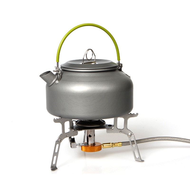 Outdoor Coffee Teapot Camping Hiking Picnic BBQ Kettle Water Pot Aluminum Suitable for both indoor and outdoor activities 2.0#