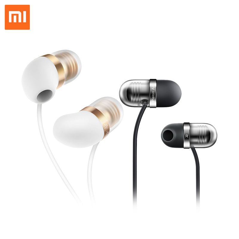 Original Xiaomi Mi Capsule In-ear Earphone Silicone Piston Air half-ear wear Dynamic Headset with Mic Remote For iPod MP3 Huawei