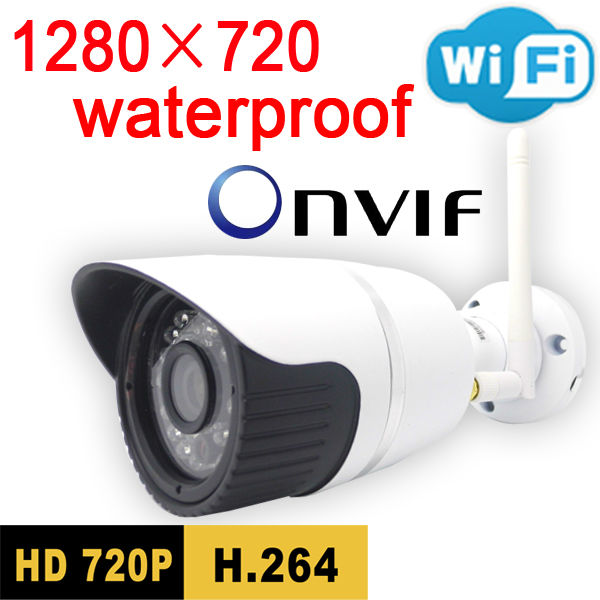 Freeshipping security door ip camera 720p hd waterproof infrared home wireless cctv system outdoor weatherproof onvif wifi cam freeshipping rs232 to zigbee wireless module 1 6km cc2530 chip