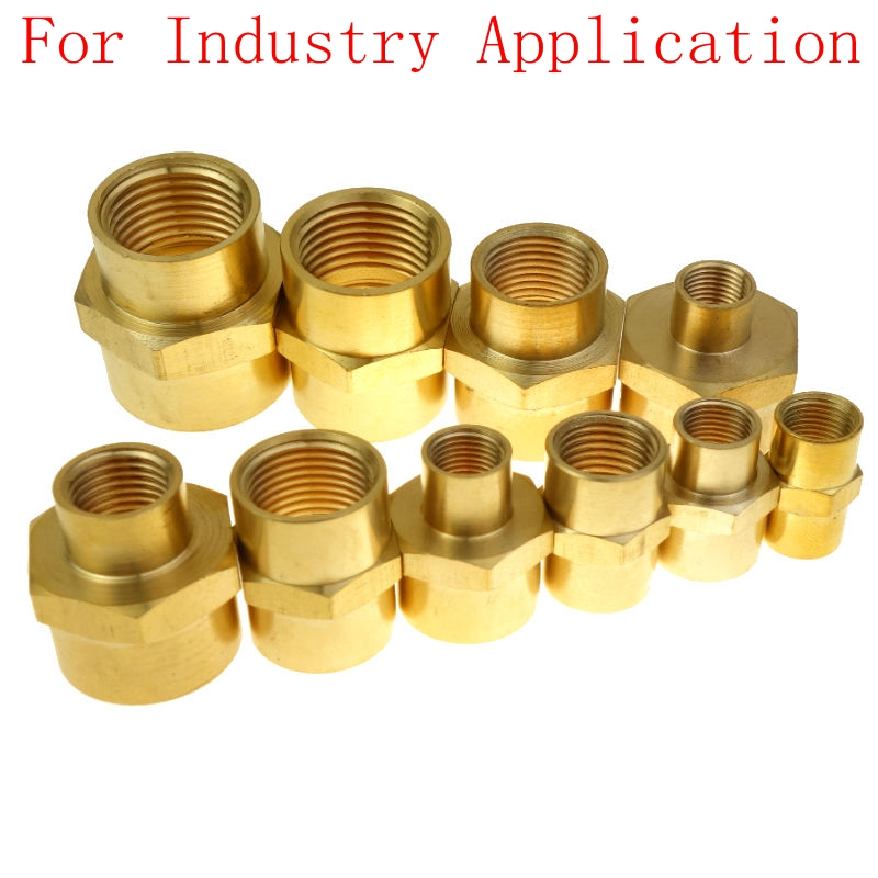 Brass Pipe Fitting  Female Coupling Equal Or Reducing 1/8