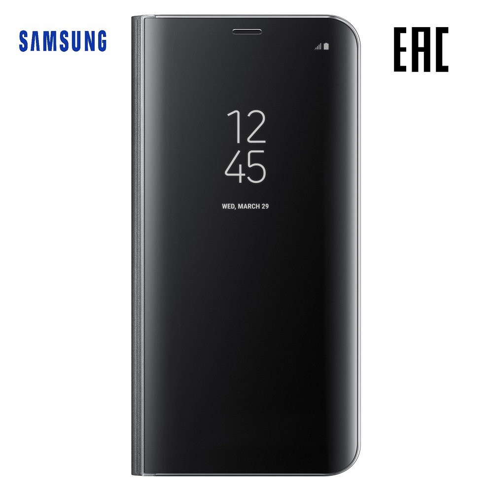 Case for Samsung Clear View Standing Cover Galaxy S8+ EF-ZG955C Phones Telecommunications Mobile Phone Accessories mi_3281881930