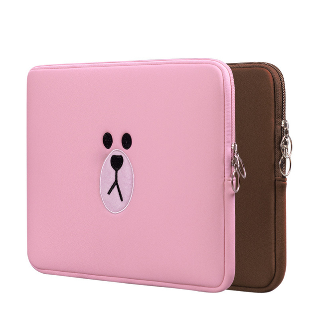 Cute Laptop Sleeve Bags 11 12 13 15 for Xiaomi Mi Pad Air 13.3 Tablets Pouch Case for Funda Apple iPad 7.9 9.7 For Macbook Air