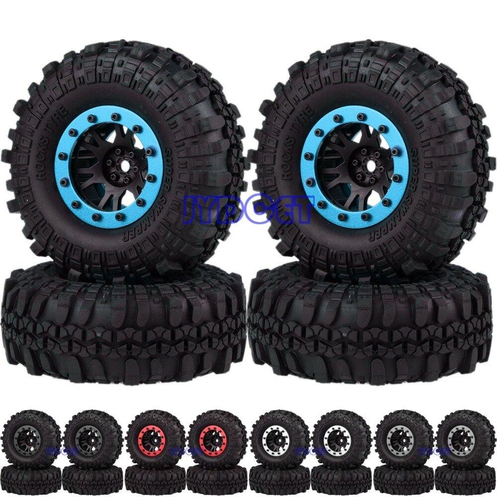 1068-7035 1.9 Nylon Wheel Rim & Aluminum Beadlock Tyre 110mm For RC 1/10 Rock Crawler TRX4 SCX101068-7035 1.9 Nylon Wheel Rim & Aluminum Beadlock Tyre 110mm For RC 1/10 Rock Crawler TRX4 SCX10