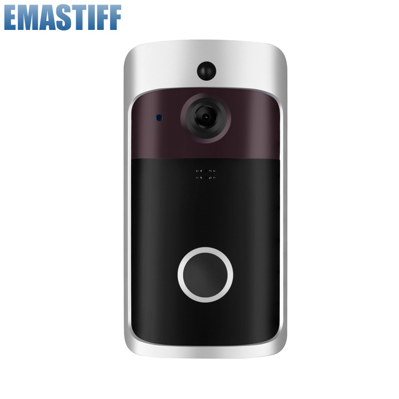 WiFi Wireless Security IR Alarm DoorBell HD 720P Visual Intercom Recording Video Door Phone Remote Home Monitoring Night Vision