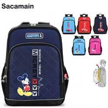 88d949134f Adolescente escuela mochila Heath proteger impresión xd diseño Mickey  estudiante mochila escolar mochila adolescentes Junior(