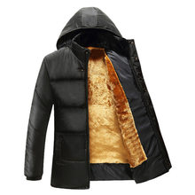 2018 new style cotton thickening male money increase fashion warm comfortable men's cotton-padded jacket(China)