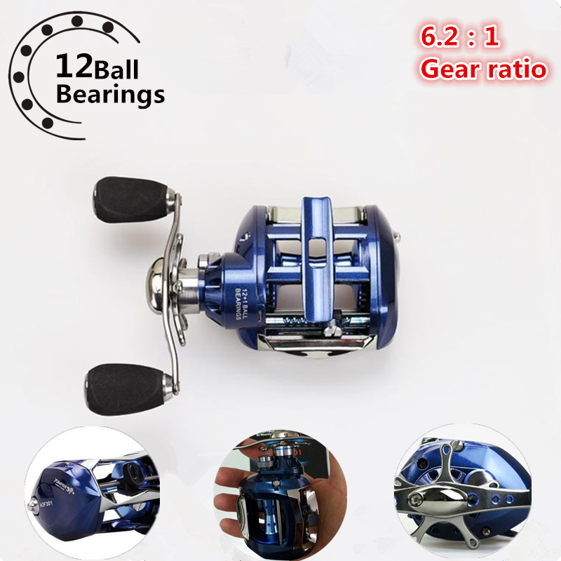 Spinning Water Drop Wheel 12+1BB Left Right Hand Bait Casting Carp Fishing Reel High Speed Baitcasting 6.2:1 Carrete de pesca ultra smooth fishing reel right and left inner brake knob system bait casting 4 1bb fish line lure pesca fishing wheel tackle