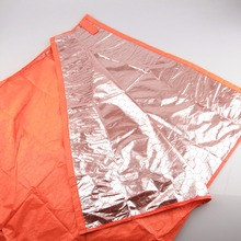 Sleeping Bag with Warm-Saving Foil Surface