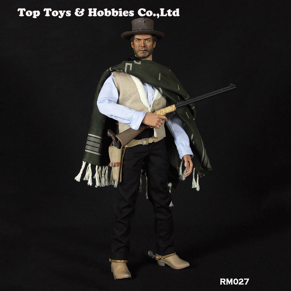 "1/6 REDMAN TOYS The Good COWBOY Joe 12"" Male Figure A Fistful Of Dollars RM027"