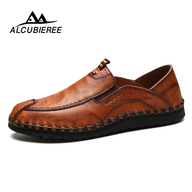 Brand Luxury Designer Sneakers Men Genuine Leather Shoes Loafers Flats Moccasins Men Casual Oxford Shoes Adult Male Footwear vintage shoes black moccasins men studded luxury brand loafers high quality fashion ballet flats casual oxford shoes for men