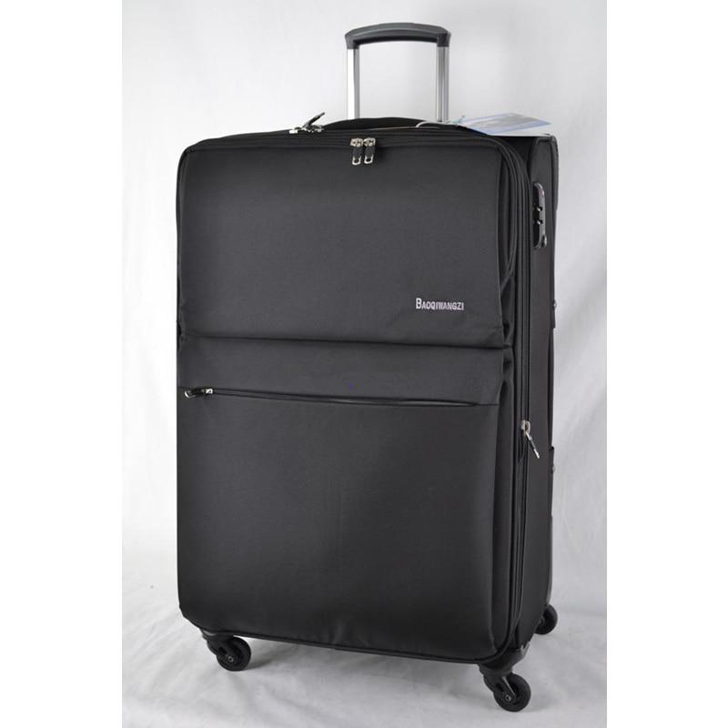 """Hotsale! 30 """"32"""" 34 """"عجلة الطائرات ذات سعة كبيرة من النايلون عربة الأمتعة للسفر إلى الخارج استخدام ، وتغيير حقيبة مكان المسكن"""