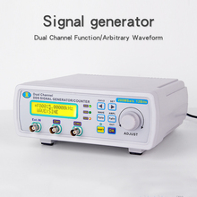 Kuaiqu Digital DDS Function Generator Signal Generator Dual-channel Frequency meter Generator Sine Wave 12bits 25Mhz 200Msa/s by dhl fedex 3pcs lot jds6600 dual channel function generator pulse signal source frequency meter 15mhz 46