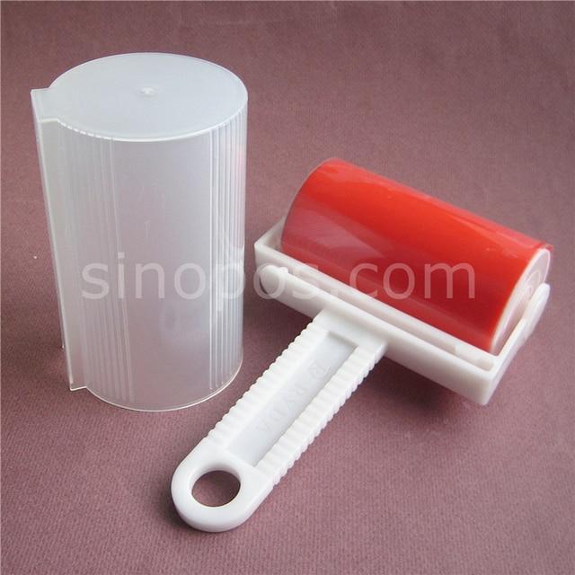Lint Rouleau Rutilisable Lavable Avec Couvercle Collant Silicone