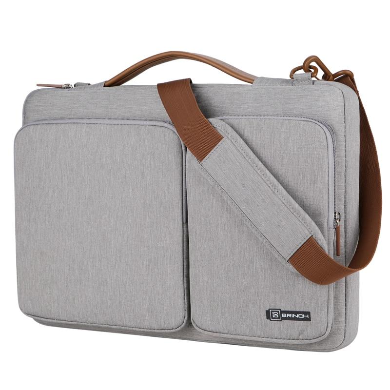 2019 New Super Light 13 13.3 15 15.4 15.6 Laptop Bag Case Shoulder Bag Handbag For Macbook Xiaomi Air 13 Hp Man Woman