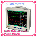 CE Marked 12 Inch TFT Dispaly Multi-Parameter Equipment Medical Patient Monitor Six para  Free DHL/EMS shipping