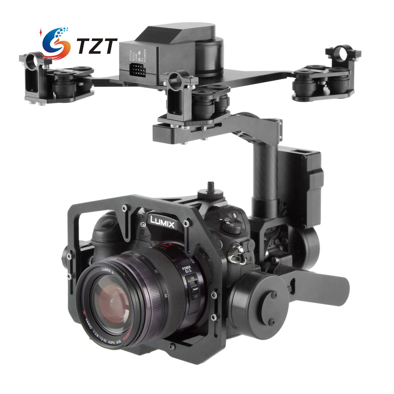 3 Axis FPV Brushless Gimbal PTZ with ALEX 32bit Control for DSLR Camera A7R2 NEX5 A5100