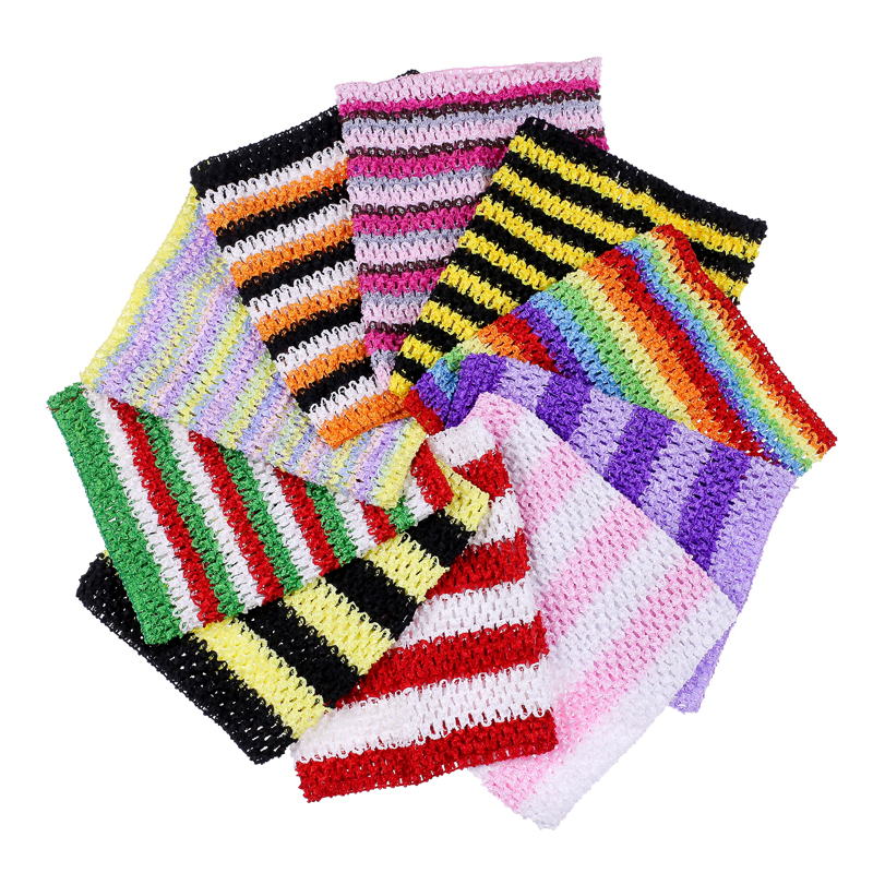 1pc Crochet Tube Top Tutu Top 12inch Large Size Crochet Headband