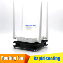 цена на USB DC 5V 120mm/140mm Cooler TV box cooling fan Wifi Router Radiator PET BOX Heatsink Bracket