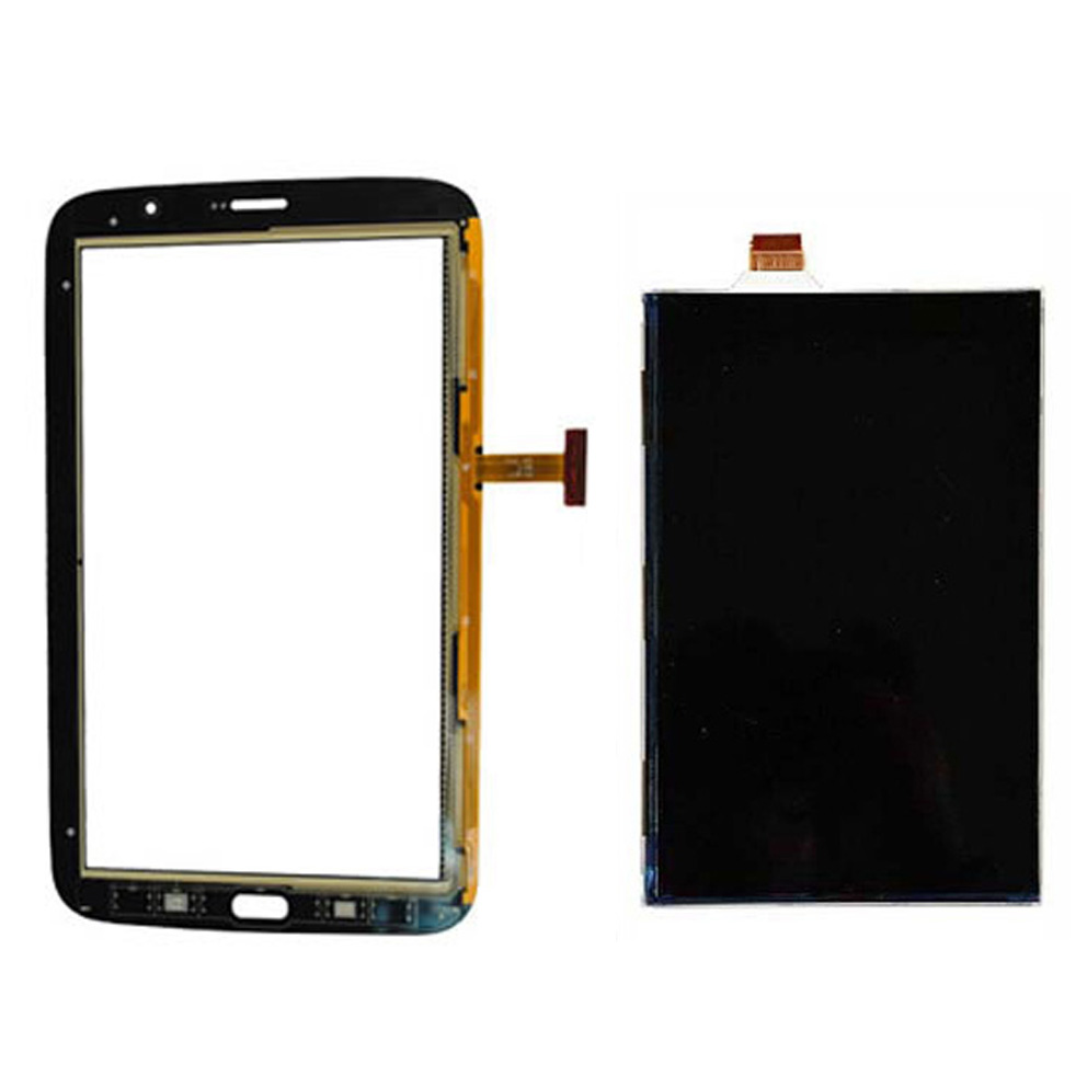 LCD Display Panel Screen Monitor Module + Touch Screen Digitizer Glass Sensor For Samsung Galaxy Note 8 GT-N5100 N5100 free shipping touch screen digitizer glass lcd display assembly for samsung galaxy note 8 gt n5100 n5100 lcd display