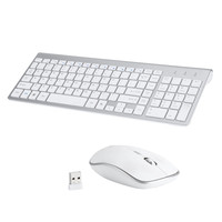 Mini Ultra Thin Mute Mice 2.4 GH USB Wireless Keyboard Silent Mouse Set Combo wireless keyboard wireless keyboard and mouse