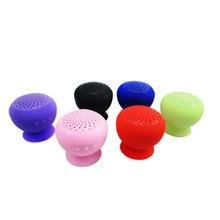 2019 Мини беспроводной гриб 4,1 Bluetooth Портативная колонка небольшой стерео Hands free для мобильного телефона с микрофоном присоске