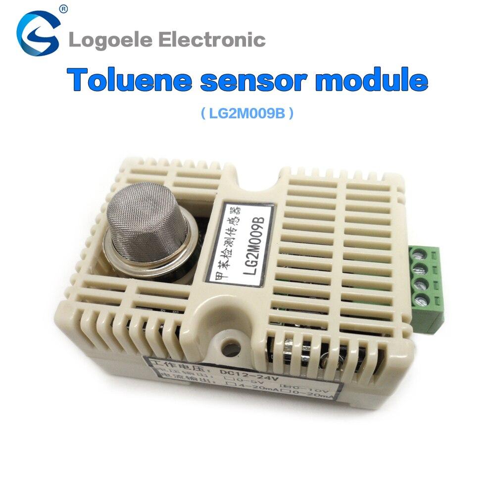 Free shipping 1-500ppm Gas detection module semiconductor toluene detection sensor