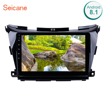 Seicane 10.1 Inch 2Din Android 8.1 GPS Navigation Car Radio WIFI Audio Multimedia Player Head Unit For 2015 Nissan Murano