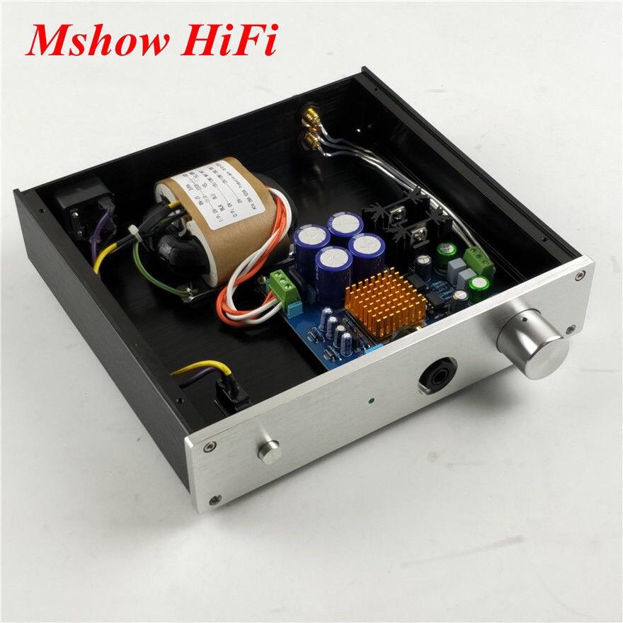 NEW Finished TPA6120 TPA6120A2 HIFI Headphone Amplifier Audio Stereo Amp