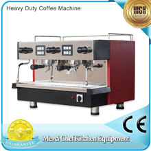 Coffee Machine Espresso Coffee Maker for ITALY Coffee with Hot Water Outdoor Two Milk Foams Heavy Duty Machine