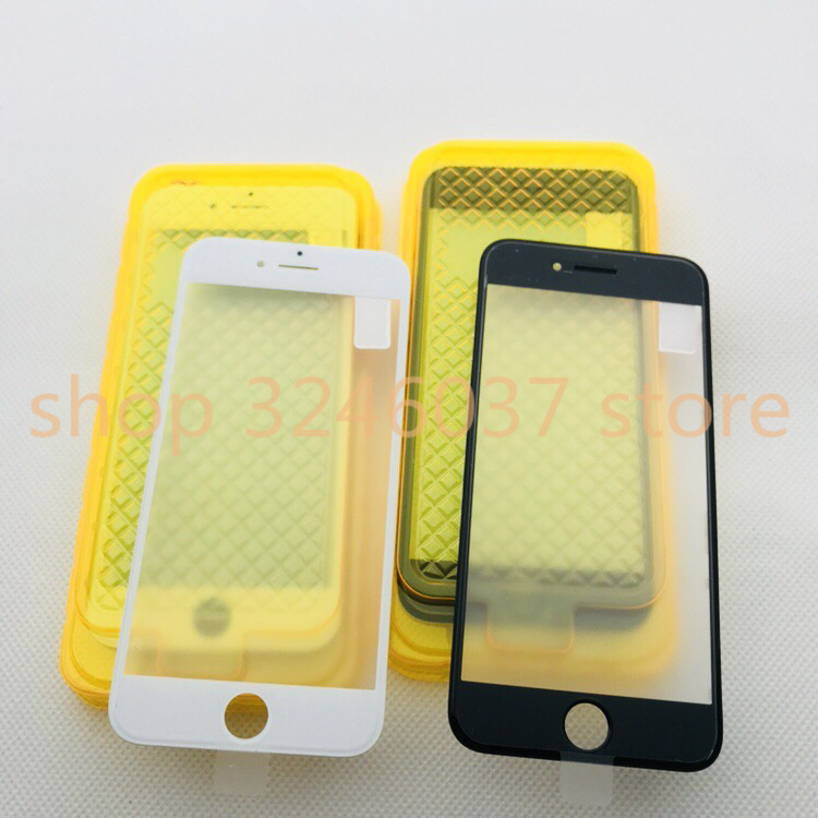 1pcs AAA cold press 6 Outer Glass with Middle Frame Bezel Assembled Front Glass Lens with Frame OCA For iPhone 6s 7 7P 8 plus 8P in Mobile Phone Touch Panel from Cellphones Telecommunications