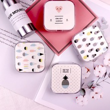 1PC Contact Lens For Eyes Case Pineapple Love For Contact Lenses Storage Holder Contact Lenses Box For Eyes Portable Travel Kit contact