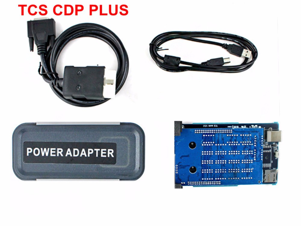 ФОТО quality A New version AutoTCS CDP+ PRO plus with Bluetooth 2014 R2 R3 free activate for cars & trucks with carton box