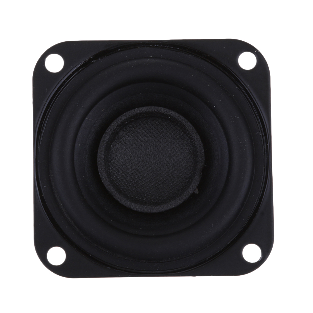 New 40mm 10W Full Range Audio Speaker Stereo Sound Black Replacement Accessories Convenient Disassembly Using Rubber Edge Design in Speaker Accessories from Consumer Electronics