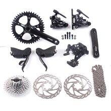 SRAM RIVAL 1 & APEX 1 11 s 1×11 s Road набор велосипедных компонентов 44 т 170 мм 11-32 т и Натт дисковые тормоза 140 мм APEX 1 задний переключатель